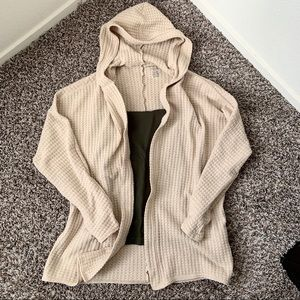 Like-New AE Soft & Sexy hooded cardigan